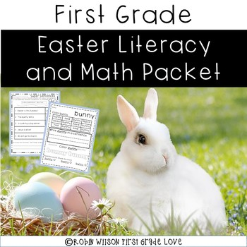 Easter Interactive Reading and Math Activities