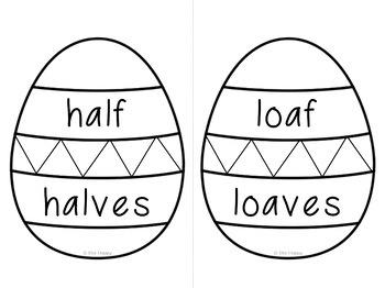 Easter Irregular Plural Nouns
