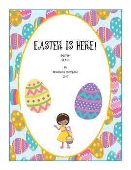 Easter Is Here! Emergent Reader