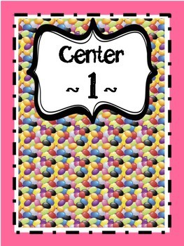 Easter Math Learning Centers Grades 4-5
