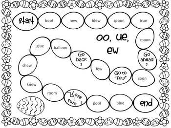 Easter Math - Literacy Games