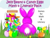 Easter Literacy and Math Center Activities