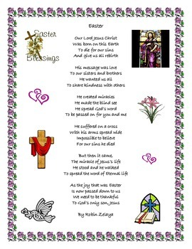 Easter Jesus Poem
