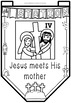 Easter ~ Jesus and The Stations of The Cross on Good Friday Banner Templates