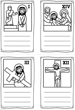 Easter ~ Jesus and The Stations of The Cross on Good Friday Mini Booklet
