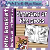 Easter ~ Good Friday ~ The Stations of The Cross Mini Booklet ~ Bible Theme