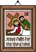 Easter ~ Jesus and The Stations of The Cross on Good Friday Posters