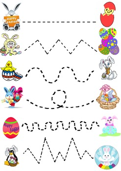 Easter Join the dots worksheet