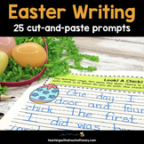 Easter Writing Prompts | Easter Writing Activities | Cut-and-Paste Prompts