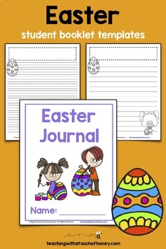 Easter Writing Prompts   Easter Writing Activities   Cut-and-Paste Prompts