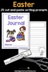 Easter Journal: 25 Journal Writing Prompts