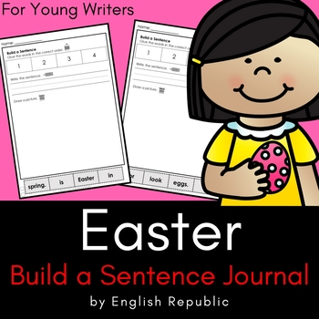 Easter Journal and Sketchbook for Beginner Writers - No Prep!