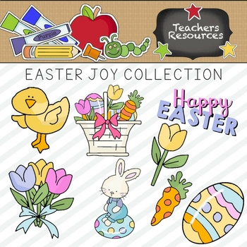 Easter Joy Clipart Collection ~ Commercial Use*