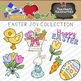 Easter Joy Clipart Collection || Commercial Use Allowed