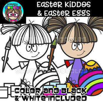 Easter Kiddos & Easter Eggs