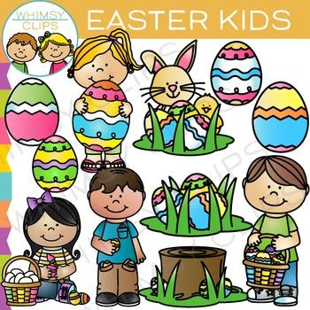 Kids Easter Clip Art