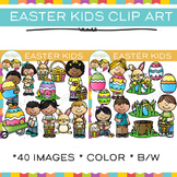 Kids Easter Clip Art