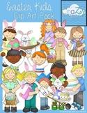 Easter Kids Clip Art Pack {CraZy Clip Art}