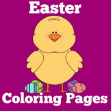 Easter Coloring Book Pages