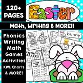 Easter Activities Writing Activities Math Activities