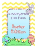 Easter Kindergarten Fun Pack