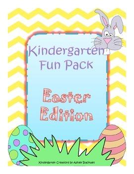Easter Kindergarten Fun Pack