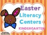 Easter Kindergarten Literacy Centers (8+ Centers)