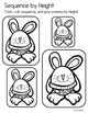 Easter Kindergarten Math Activities and Worksheets for the Common Core