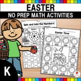 Easter Math Worksheets (Kindergarten)