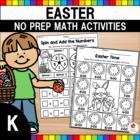 Easter Kindergarten Math Worksheets (Common Core Aligned)