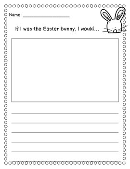 Easter Kindergarten Mini-Unit FREEBIE