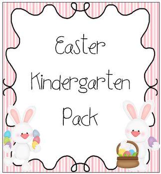 Easter Kindergarten Pack