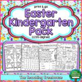 Easter Kindergarten Pack, No Prep, CCSS Aligned