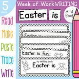 Easter Printable Week of Writing Book