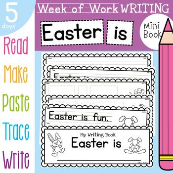 Easter Kindergarten Printable Writing Book