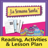 Easter / La Semana Santa in Spain: Lesson Plans, Reading & Activities (Spanish)