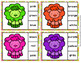 Easter Lamb Color Match Clip Cards and Memory Game