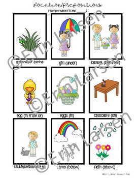 Easter Language Activities