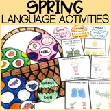 Spring Speech Therapy | Easter Speech Therapy
