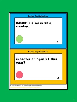 Easter Language Arts Activities Bundle