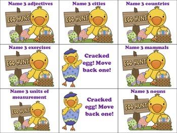 Easter Language Games!