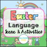 Easter Language Scene Speech Therapy