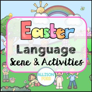 Easter Scene: Expressive & Receptive Language