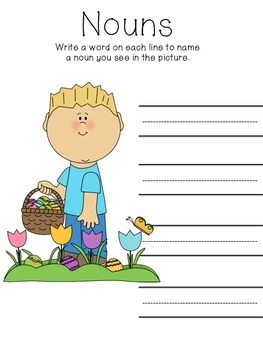 Easter Language Sheets