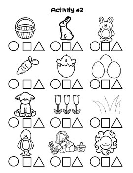 Easter / Paques FRENCH Worksheets