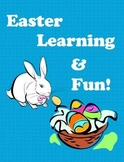 Easter Learning Unit (76 pages of Language Arts, Math & Science!)