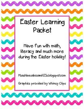Easter Learning Set