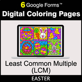 Easter: Least Common Multiple (LCM) - Google Forms | Digit