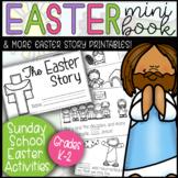 K-2 Easter Lesson Mini Book Sunday School Christian Bible