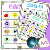 Easter Letter Bingo {Egg-O}